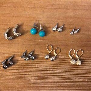 8 Earring Set